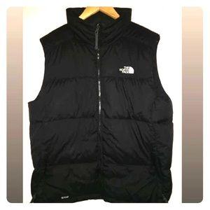 Men's large north face puffer vest EUC